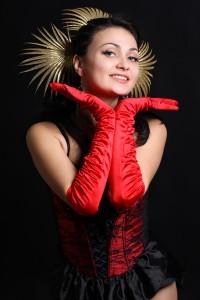 Moulin rouge danseres nachtclub Parijs