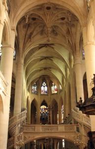 Saint Étienne du Mont kerk Parijs