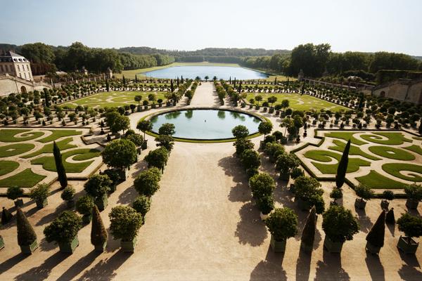 Paleis Van Versailles Tuin.Excursie Parijs