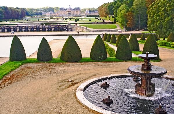 Kasteel van Vaux-le-vicomte Frankrijk