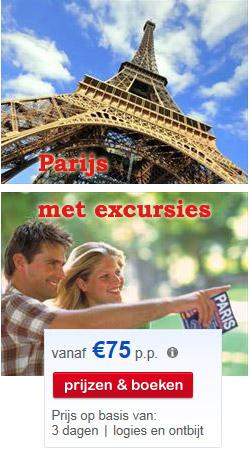 Parijs met excursies