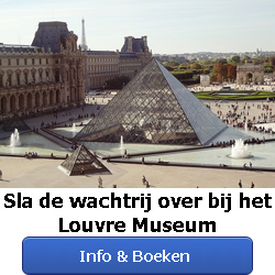 Online tickets Louvre Parijs